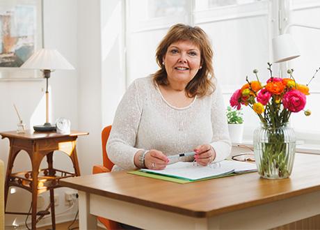 Leg psykoterapeut Anneli Ahlmér