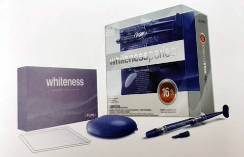Blekningsprodukter från Whiteness Perfect