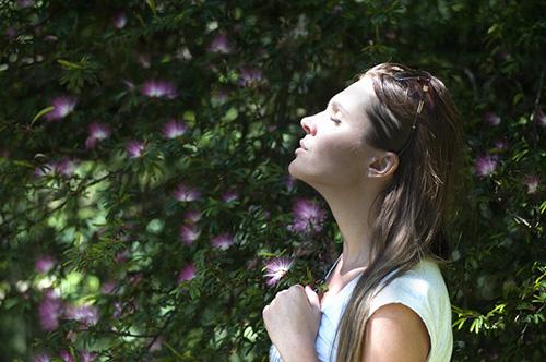 kvinna-mindfulness
