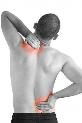 Sjukgymnast rygg