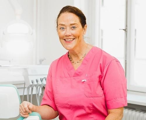 Tandläkare Elisabeth Ådén Jangenstål