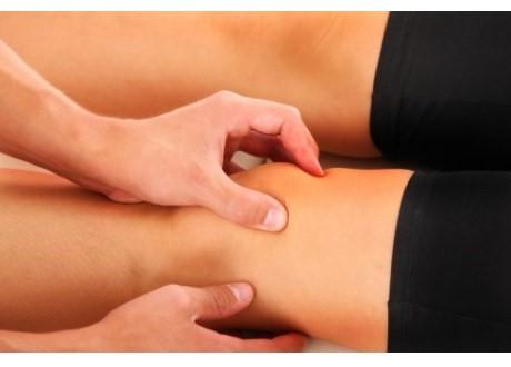 Undersökning av knä