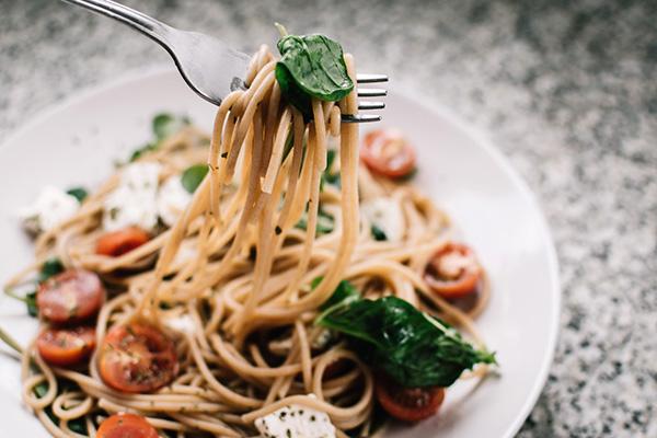 En tallrik pasta