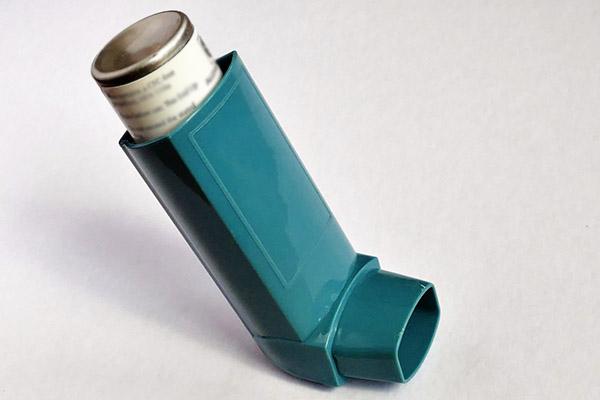 Inhalator för astmamedicin