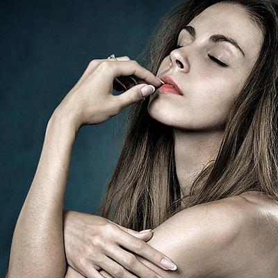 Kvinna-skönhet-botox