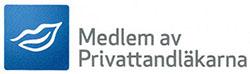 Privattandläkarnas logotyp