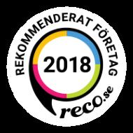 Logotyp för Reco: Rekommenderat Företag