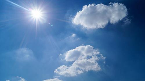 sol-himmel-moln