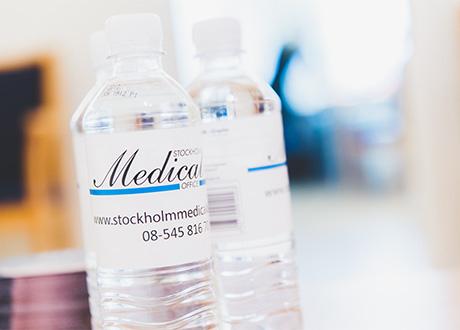 Stockholm Medical Office flaskor