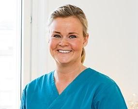 Tandläkare Helena Gustavsson