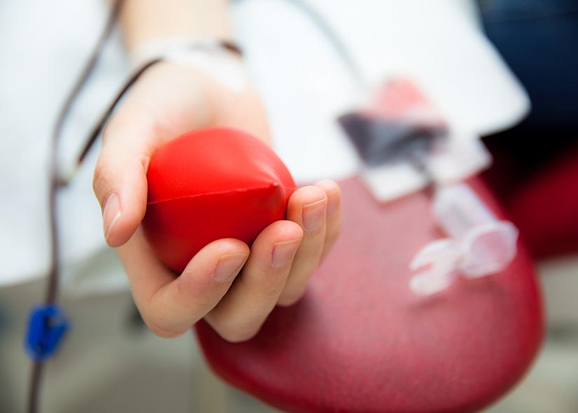 Man ger blod