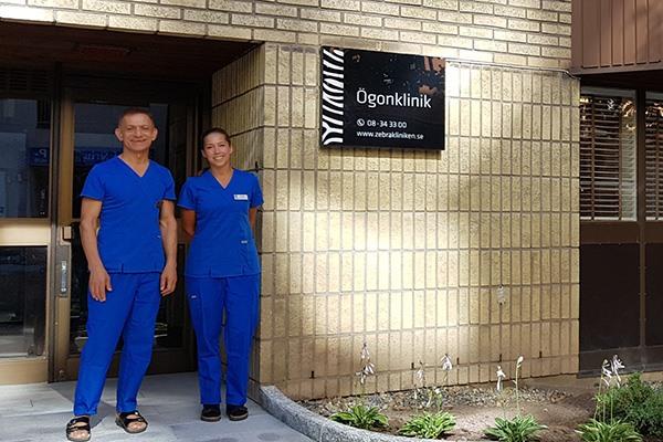 Zebraklinikens personal
